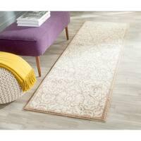 Safavieh Indoor/ Outdoor Amherst Wheat/ Beige Rug - 2'3 x 7'
