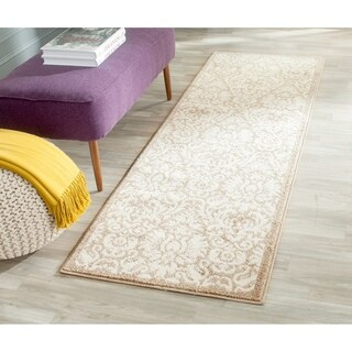 Safavieh Indoor/ Outdoor Amherst Wheat/ Beige Rug (2'3 x 11')