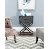 Safavieh Dunstan Grey Accent Table