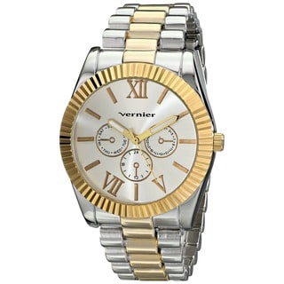 Vernier Women's Two-tone Mid-size Status Watch