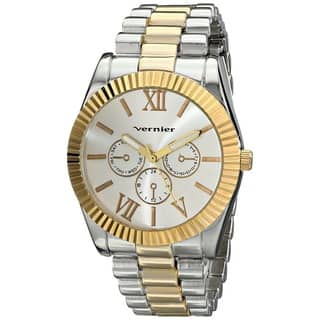 Vernier Women's Two-tone Mid-size Status Watch|https://ak1.ostkcdn.com/images/products/9273857/P16437578.jpg?impolicy=medium