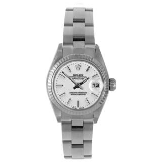 Pre-Owned Rolex Women's Stainless Steel Datejust Oyster Bracelet Watch