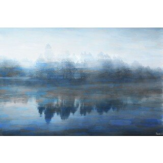 Parvez Taj 'Lake Marmont' Fine Art Print - Multi-color