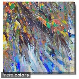 Studio Works Modern 'Tropical Palm Euphoria' Fine Art Gallery Wrapped Canvas