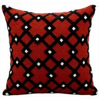 kathy ireland Black Diamonds Rust Throw Pillowby Nourison (18-Inch X 18-Inch)