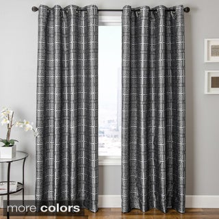 Softline Elton Square Grommet Top Curtain Panel