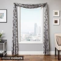 Softline Astra Faux Linen 6-yard Window Scarf - 214 x 55