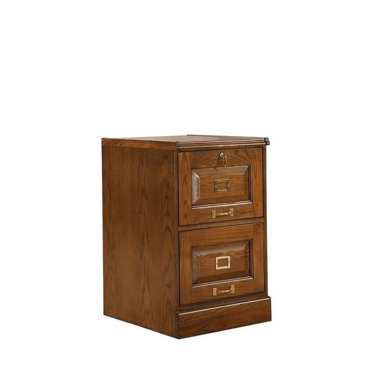 Coaster Furniture 2-drawer File Cabinet (Oak), Brown