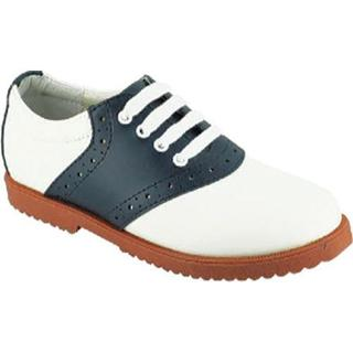 Women's Academie Gear Honor Role White/Navy Saddle Shoe