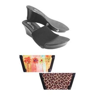Women's Onesole Elegance Breezy Palm Black/Multi