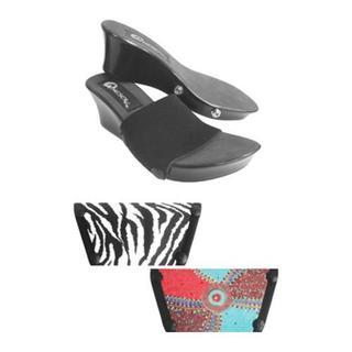 Women's Onesole Elegance Turq Circ Black/Multi