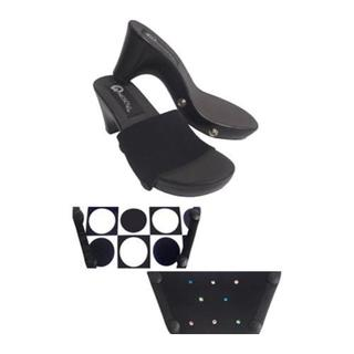 Women's Onesole Traveler Soft Step Black/Multi Dot