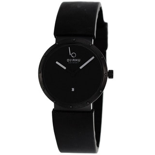Obaku Men's V118LBBXB Harmony Black Watch