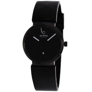 Obaku Men's V118LBBXB Harmony Black Watch