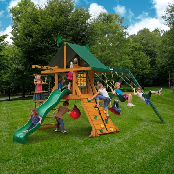 gorilla playsets high point swing set free shipping today - Lifetime Adventure Tower Playset