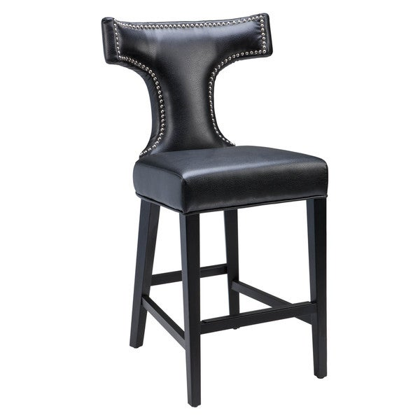 Shop Sunpan 5west Serafina Leather Counter Stool