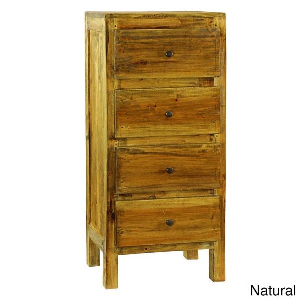 Lucia Rustic 4-drawer Dresser
