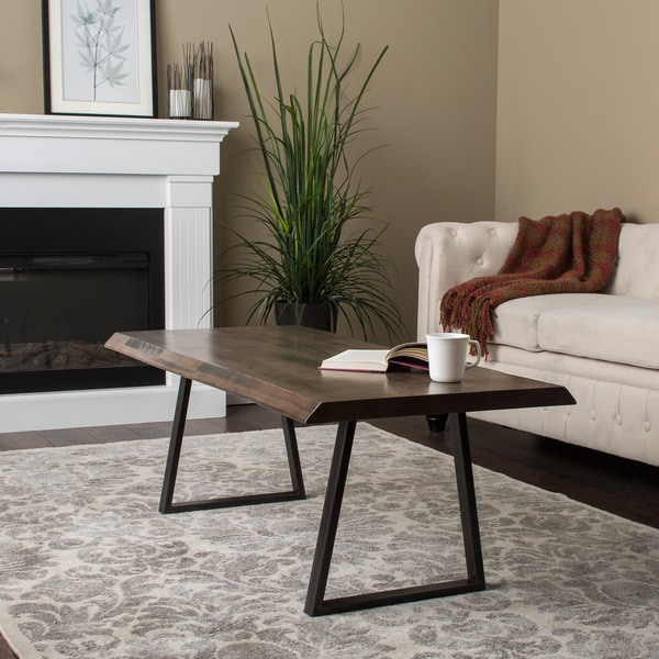 At Home Live Edge Coffee Table: Live Edge Coffee Table