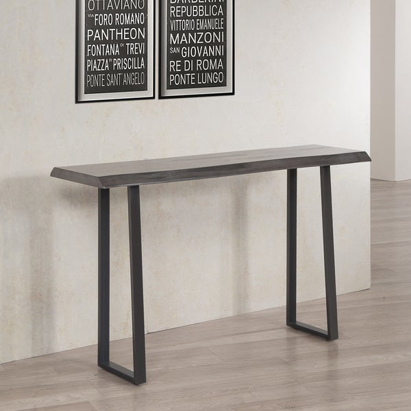 Live Edge Console Table Free Shipping Today Overstock