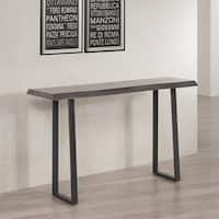 Pine Canopy Live Edge Console Table