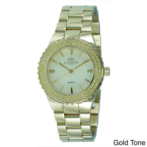 Oniss Women's Magnifico Collection Stainless Steel Watch