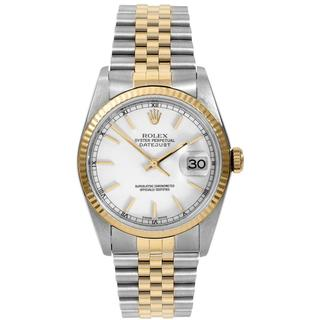 Pre-owned Rolex Men's Datejust Two-tone Automatic Watch