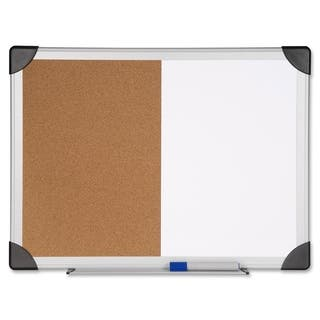 Lorell 24 x 36-inch Dry Erase/ Cork Board Combination|https://ak1.ostkcdn.com/images/products/9275791/P16439444.jpg?impolicy=medium