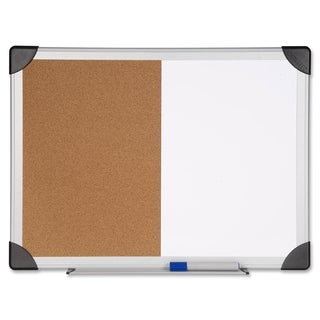 Lorell 24 x 36-inch Dry Erase/ Cork Board Combination