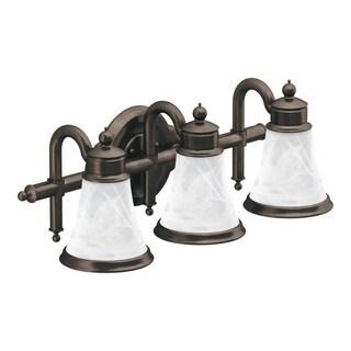 Waterhill 3-globe Oil Rubbed Bronze Bath Lighting