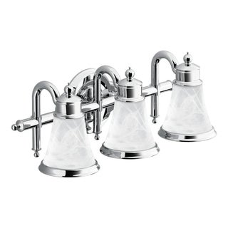 Waterhill 3-globe Chrome Bath Lighting