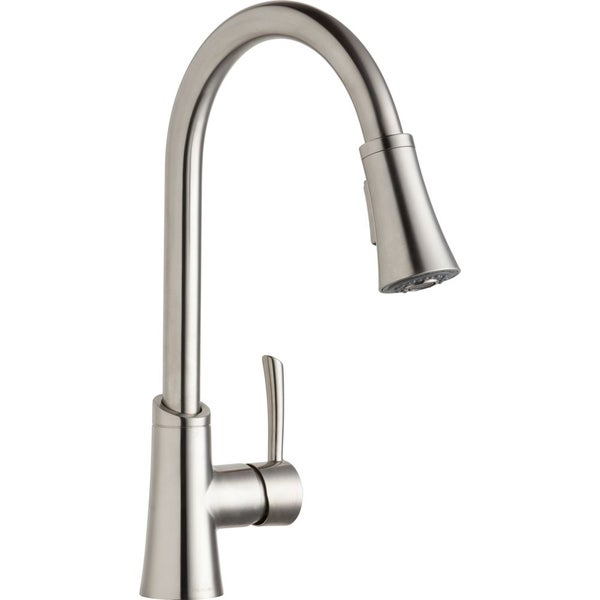 elkay gourmet pull down kitchen faucet free shipping elkay lk395a spout commercial kitchen faucet atg stores