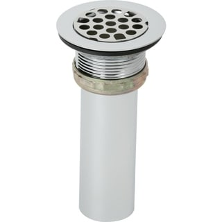 Elkay Chrome 4.75x 4.5-inch Drain Fitting