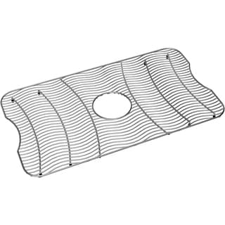 Elkay Wavy Wire Stainless Steel 14.8x26.5-inch Bottom Grid