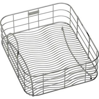 Elkay Wavy Wire 15x12.5-inch Stainless Steel Rinsing Basket