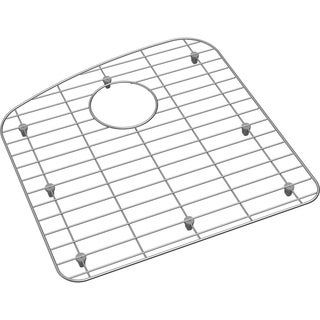 "Dayton Stainless Steel 16-3/4"" x 17-1/4"" x 1"" Bottom Grid - 16-3/4 x 17-1/4 x 1"