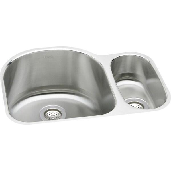 Elkay Harmony Lustertone Stainless Steel Double Bowl