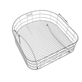 Elkay Wavy Wire 16.2x14.7-inch Stainless Steel Rinsing Basket