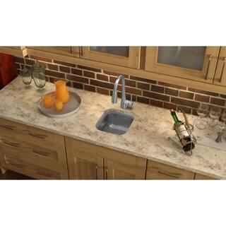 "Elkay Stainless Steel 12"" x 14"" x 6-1/2"", Single Bowl Undermount Bar Sink"