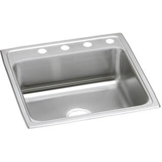 Elkay Gourmet (Pacemaker) Stainless Steel Single Bowl Top Mount Sink