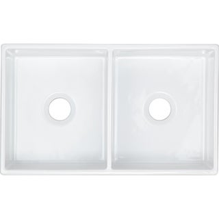 Elkay Explore Fine Fireclay Double Bowl Undermount Sink