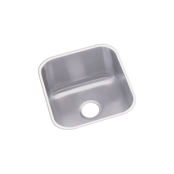 Undermount Stainless Steel Sink Single Bowl : Elkay Dayton Stainless Steel Single Bowl Undermount Bar Sink - Free ...