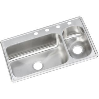 Ada compliant kitchen sinks for less overstock elkay dayton elite stainless steel double bowl top mount sink workwithnaturefo