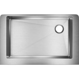 Elkay Crosstown Stainless Steel Single Bowl Apron Front Undermount Sink