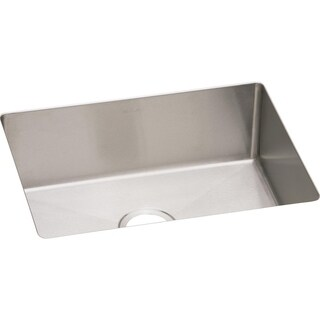 "Elkay Crosstown 16 Gauge Stainless Steel 23-1/2"" x 18-1/4"" x 10"", Single Bowl Undermount Sink"