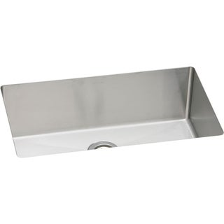 Elkay Avado Stainless Steel Single Bowl Undermount Sink Kit