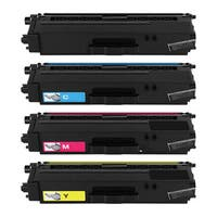 Brother TN331 TN336 Remanufactured High Yield Compatible Toner Cartridges (Pack of 4)