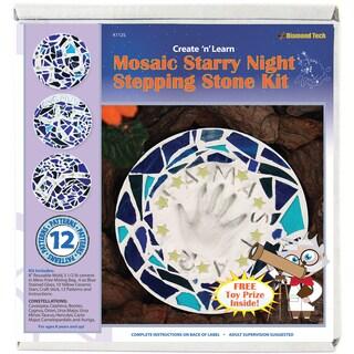 Mosaic Stepping Stone Kit-Starry Night