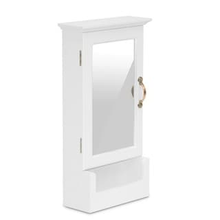 Julie Wall Mount Keycabinet with Mirror