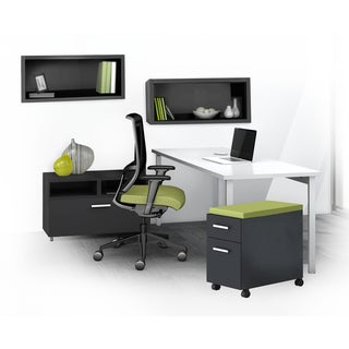 Mayline e5 Series E5K14 5-piece Typical Office Furniture Set