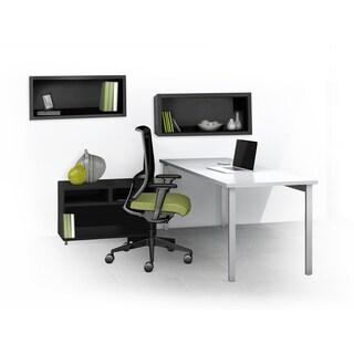 Mayline e5 Series E5K6 4-piece Typical Office Furniture Set